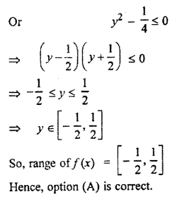 RBSE Solutions for Class 11 Maths Chapter 2 Relations and Functions Miscellaneous Exercise 6