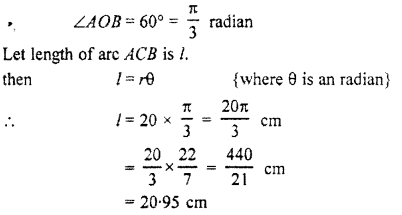 RBSE Solutions for Class 11 Maths Chapter 3 Trigonometric FunctionsEx 3.1