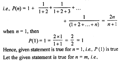 RBSE Solutions for Class 11 Maths Chapter 4 Principle of Mathematical Induction Ex 4.1 21