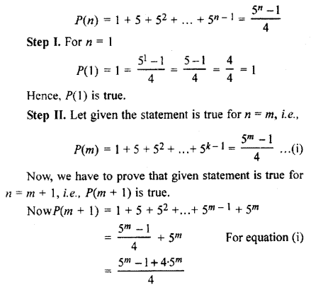 RBSE Solutions for Class 11 Maths Chapter 4 Principle of Mathematical Induction Ex 4.1 24
