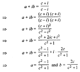 RBSE Solutions for Class 11 Maths Chapter 5 Complex Numbers Ex 5.1 16