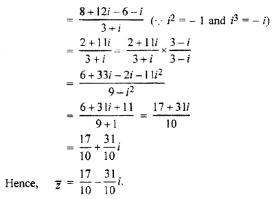 RBSE Solutions for Class 11 Maths Chapter 5 Complex Numbers Ex 5.1 6