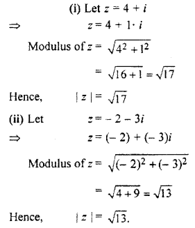 RBSE Solutions for Class 11 Maths Chapter 5 Complex Numbers Ex 5.1 7