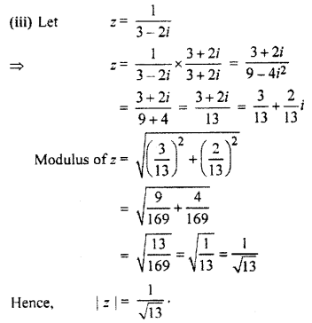 RBSE Solutions for Class 11 Maths Chapter 5 Complex Numbers Ex 5.1 8