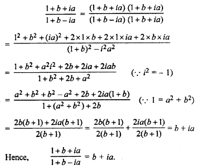 RBSE Solutions for Class 11 Maths Chapter 5 Complex Numbers Ex 5.1 9