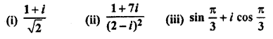 RBSE Solutions for Class 11 Maths Chapter 5 Complex Numbers Ex 5.2 5