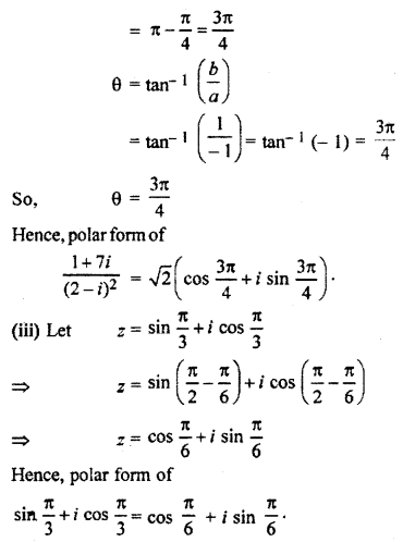 RBSE Solutions for Class 11 Maths Chapter 5 Complex Numbers Ex 5.2 8