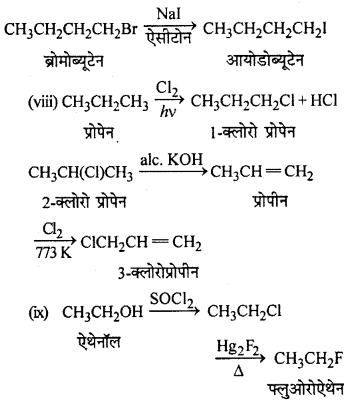 RBSE Solutions for Class 12 Chemistry Chapter 10 हैलोजेन व्युत्पन्न image 229