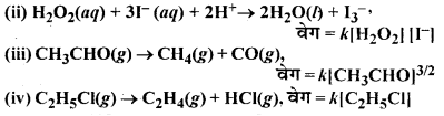RBSE Solutions for Class 12 Chemistry Chapter 4 रासायनिक बलगतिकी image 12