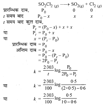 RBSE Solutions for Class 12 Chemistry Chapter 4 रासायनिक बलगतिकी image 40