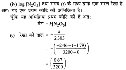 RBSE Solutions for Class 12 Chemistry Chapter 4 रासायनिक बलगतिकी image 67