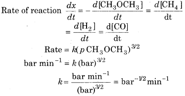 RBSE Solutions for Class 12 Chemistry Chapter 4 Chemical Kinetics image 46