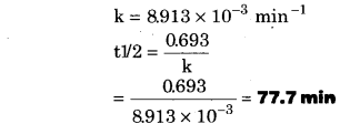 RBSE Solutions for Class 12 Chemistry Chapter 4 Chemical Kinetics image 27