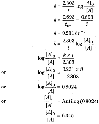 RBSE Solutions for Class 12 Chemistry Chapter 4 Chemical Kinetics image 38