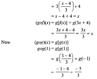 RBSE Solutions for Class 12 Maths Chapter 1 Composite Functions Ex 1.1