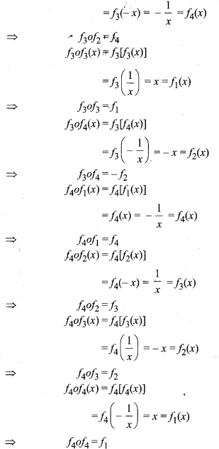 RBSE Solutions for Class 12 Maths Chapter 1 Composite Functions Ex 1.3