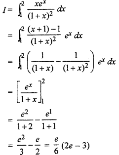 RBSE Solutions for Class 12 Maths Chapter 10 निश्चित समाकल Additional Questions