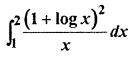 RBSE Solution Class 12th Maths Definite Integral