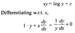 RBSE Solutions for Class 12 Maths Chapter 12 Differential Equation Ex 12.3