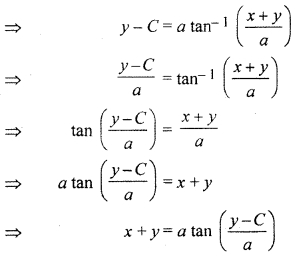 RBSE Solutions for Class 12 Maths Chapter 12 Differential Equation Ex 12.5
