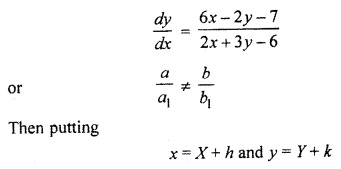 RBSE Solutions for Class 12 Maths Chapter 12 Differential Equation Ex 12.7
