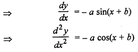 RBSE Solutions for Class 12 Maths Chapter 12 अवकल समीकरण Ex 12.2