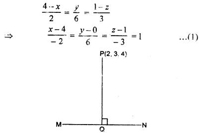RBSE Solutions for Class 12 Maths Chapter 14 त्रि - विमीयज्यामिति Ex 14.4