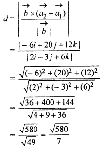 RBSE Solutions for Class 12 Maths Chapter 14 Three Dimensional Geometry Ex 14.4