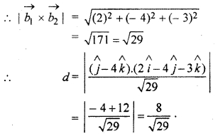 RBSE Solutions for Class 12 Maths Chapter 14 Three Dimensional Geometry Ex 14.5