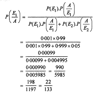 RBSE Solutions for Class 12 Maths Chapter 16 प्रायिकता एांव प्रायिकता बंटन Ex 16.3