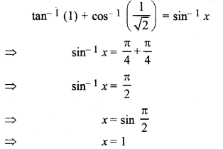 RBSE Solutions for Class 12 Maths Chapter 2 Additional Questions 12