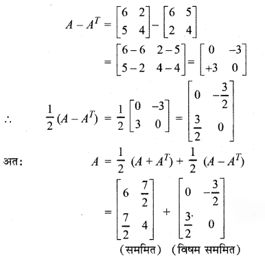 RBSE Solutions for Class 12 Maths Chapter 3 Additional Questions 24