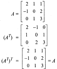 RBSE Solutions for Class 12 Maths Chapter 3 Additional Questions 26