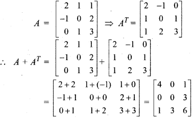 RBSE Solutions for Class 12 Maths Chapter 3 Additional Questions 27