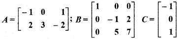RBSE Solutions for Class 12 Maths Chapter 3 Additional Questions 38