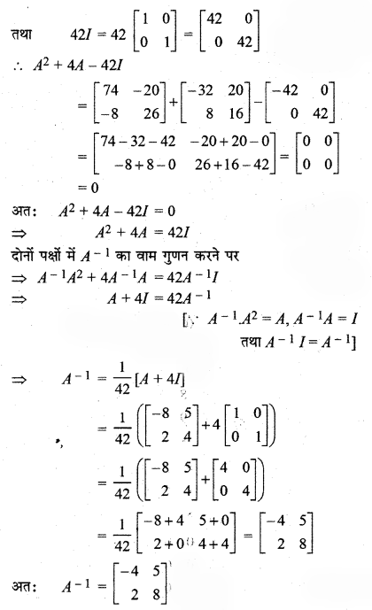 RBSE Solutions for Class 12 Maths Chapter 5 Additional Questions 23