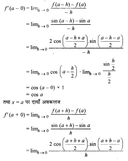 RBSE Solutions for Class 12 Maths Chapter 6 Additional Questions 36