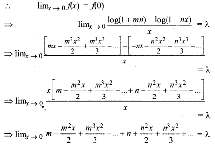 RBSE Solutions for Class 12 Maths Chapter 6 Additional Questions 5