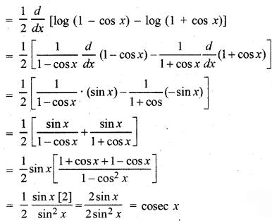 RBSE Solutions for Class 12 Maths Chapter 7 अवकलन Ex 7.1 13
