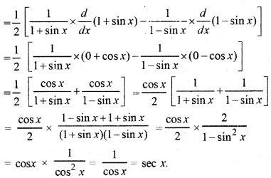 RBSE Solutions for Class 12 Maths Chapter 7 अवकलन Ex 7.1 17