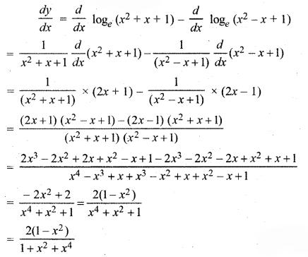 RBSE Solutions for Class 12 Maths Chapter 7 अवकलन Ex 7.1 23
