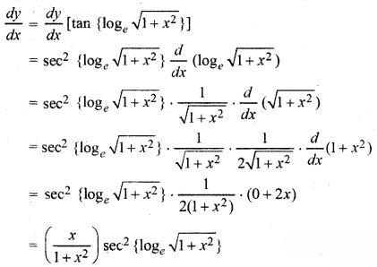 RBSE Solutions for Class 12 Maths Chapter 7 अवकलन Ex 7.1 26