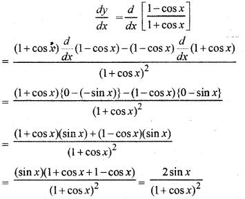 RBSE Solutions for Class 12 Maths Chapter 7 अवकलन Ex 7.1 6