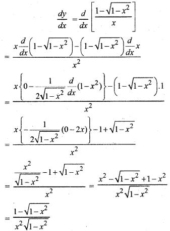 RBSE Solutions for Class 12 Maths Chapter 7 अवकलन Ex 7.1 9
