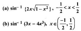 RBSE Solutions for Class 12 Maths Chapter 7 अवकलन Ex 7.2 1