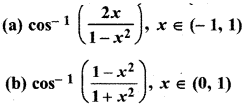 RBSE Solutions for Class 12 Maths Chapter 7 अवकलन Ex 7.2 7