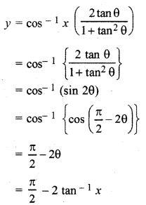 RBSE Solutions for Class 12 Maths Chapter 7 अवकलन Ex 7.2 9