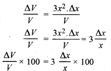 RBSE Solutions for Class 12 Maths Chapter 8 अवकलजों के अनुप्रयोग Additional Questions