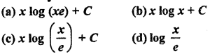 RBSE Solutions for Class 12 Maths Chapter 9 समाकलन Additional Questions