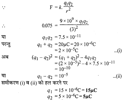 RBSE Solutions for Class 12 Physics Chapter 1 विद्युत क्षेत्र 43